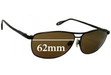 Sunglass Fix Replacement Lenses for Serengeti Large Aviator - 62mm wide