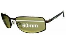 Sunglass Fix Replacement Lenses for Serengeti Carini - 60mm Wide