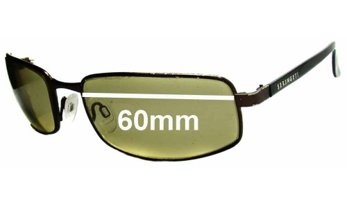 Serengeti Carini Replacement Sunglass Lenses - 60mm Wide