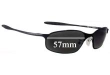 Sunglass Fix Replacement Lenses for Serengeti Vedi - 57mm wide