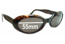 Sergio Tacchini ST 1557-S Replacement Sunglass Lenses - 55mm wide