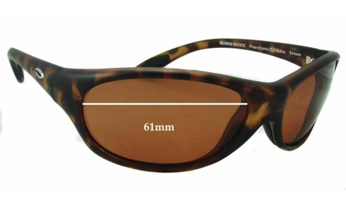 Smith Guides Choice Replacement Sunglass Lenses 61mm wide