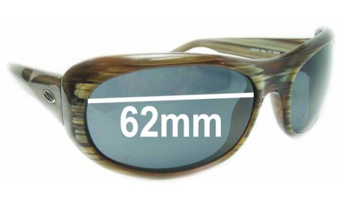 Smith Lovejoy Mica Replacement Sunglass Lenses - 62mm wide