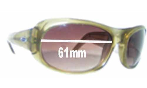 Smith Lovejoy Crystal Green Replacement Sunglass Lenses - 61mm