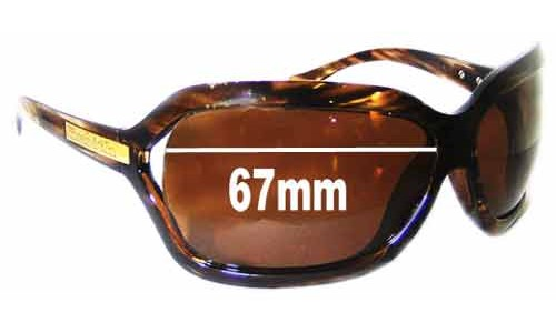 Smith Melrose Replacement Sunglass Lenses - 67mm Wide