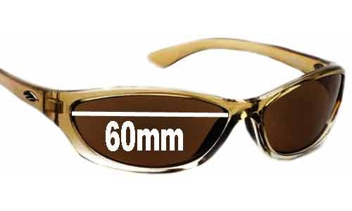 Smith Rootbeer Replacement Sunglass Lenses - 60mm wide