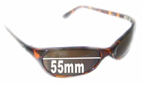 Smith Toaster Replacement Sunglass Lenses - 55mm wide