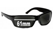 Smith Touchstone Replacement Sunglass Lenses 61mm wide
