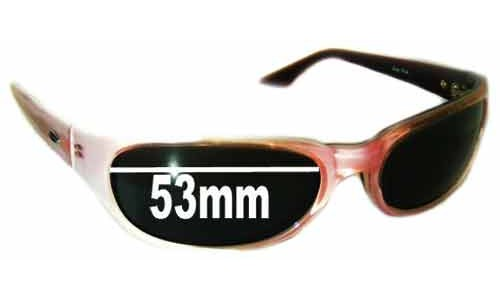 Smith Vice Pink Replacement Sunglass Lenses - 53mm wide