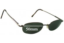 Spec Savers Baron Replacement Sunglass Lenses - 50mm wide
