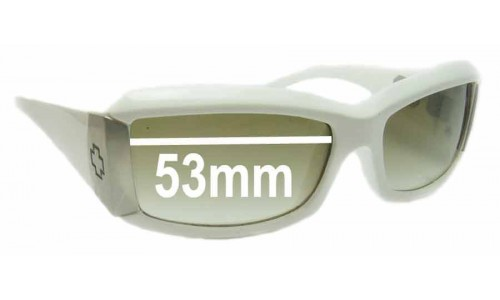 Spy Optics Abbey Replacement Sunglass Lenses - 53mm Wide