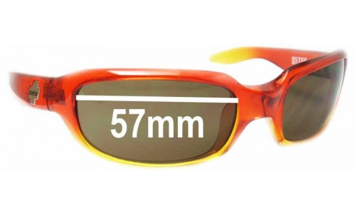 Spy Optics Astro New Sunglass Lenses - 57mm Wide