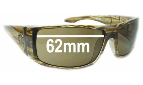 Spy Optics Cooper XL New Sunglass Lenses - 62mm Wide