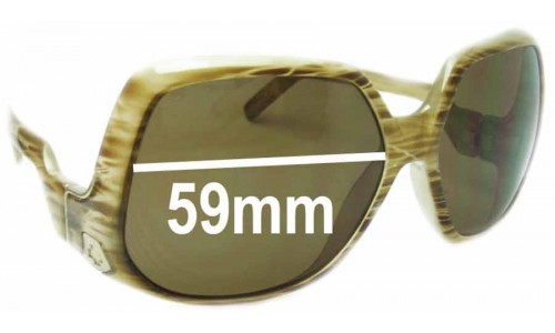 Spy Optics Corniche Replacement Sunglass Lenses - 59mm Wide