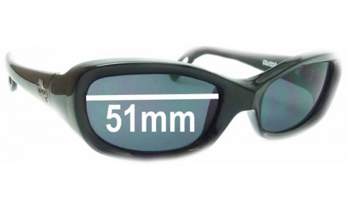 Spy Optics Cosmik New Sunglass Lenses - 51mm Wide