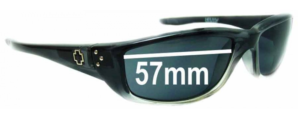 1c8825bbf35aa Spy Optics Curtis Replacement Lenses - 57mm Wide