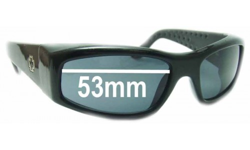 Spy Optics MC Replacement Sunglass Lenses - 53mm Wide