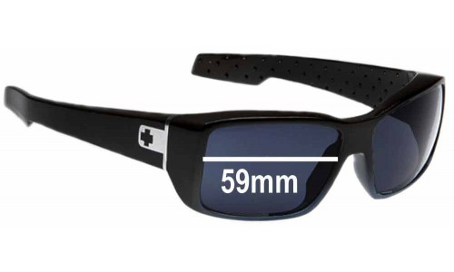 Spy Optics MC2 New Sunglass Lenses - 59mm Wide