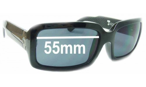 Spy Optics Twiggy Replacement Sunglass Lenses - 55mm Wide