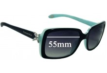 Tiffany & Co TF4047-B Replacement Sunglass Lenses - 55mm Wide