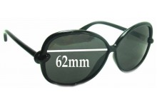 Tom Ford Ingrid TF163 Replacement Sunglass Lenses - 62mm wide