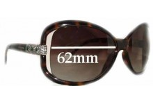 Valentino 5559-S Replacement Sunglass Lenses - 62mm Wide