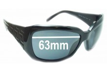 Sunglass Fix New Replacement Lenses for Versace MOD 4049 - 63mm Wide