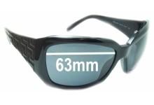 Versace MOD 4049 Replacement Sunglass Lenses - 63mm Wide