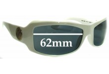 Sunglass Fix New Replacement Lenses for Versace MOD 4093 - 62mm Wide