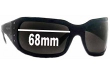 Vogue VO2369-S Replacement Sunglass Lenses - 68mm wide