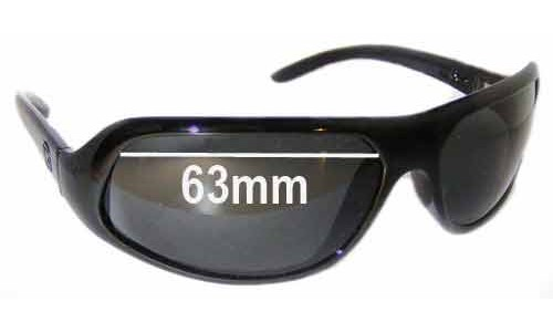 Von Zipper Busta Replacement Sunglass Lenses - 63mm