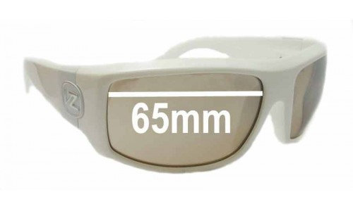 Von Zipper Clutch Replacement Sunglass Lenses - 65mm Wide