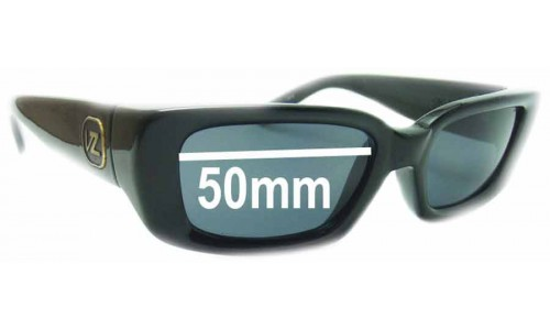 Von Zipper Fifty Replacement Sunglass Lenses - 50mm wide