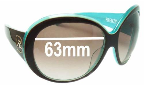 Von Zipper Frenzy Replacement Sunglass Lenses - 63mm Wide