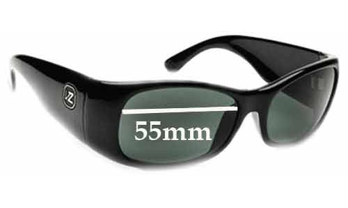 Von Zipper Gig New Sunglass Lenses - 55mm Wide
