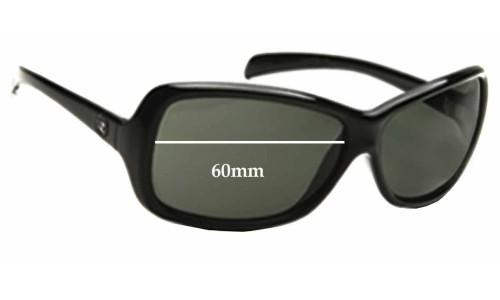 Von Zipper Glue Replacement Sunglass Lenses - 60mm