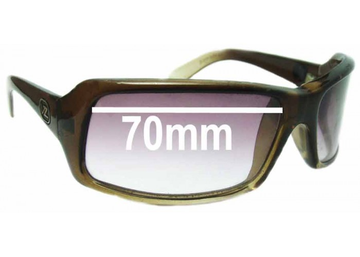 SFX Replacement Sunglass Lenses fits Von Zipper Fernstein 58mm Wide