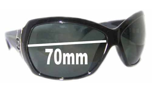 Von Zipper Riviera Replacement Sunglass Lenses - 70mm Wide