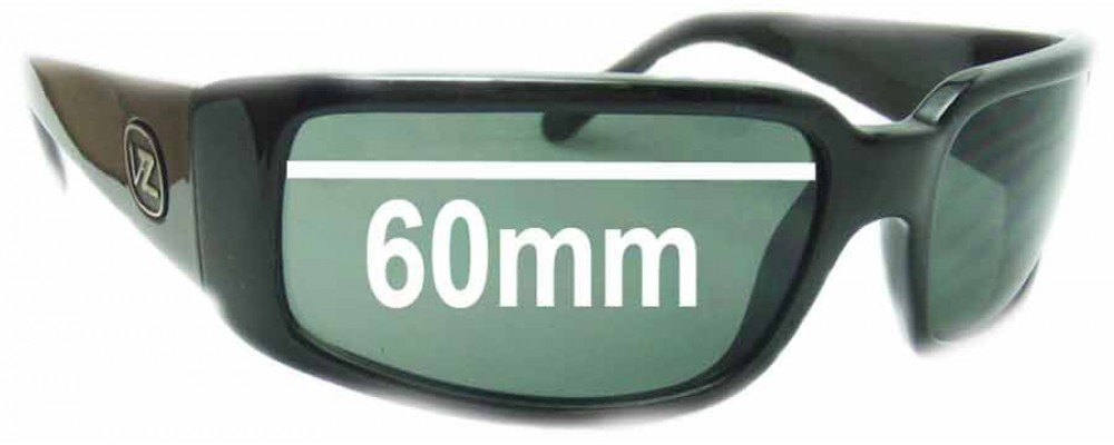 9872f61c822 Von Zipper Sham Replacement Sunglass Lenses - 60mm wide