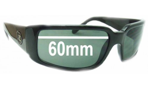Von Zipper Sham Replacement Sunglass Lenses - 60mm wide