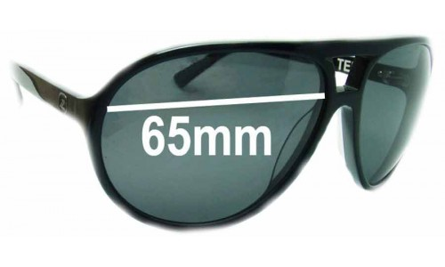 Von Zipper Telly Replacement Sunglass Lenses - 65mm