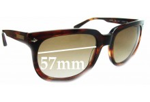 Wayne Cooper Pipi WC978 Replacement Sunglass Lenses - 57mm Wide