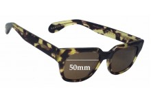 Age Eyewear Agent Replacement Sunglass Lenses - 50mm Wide