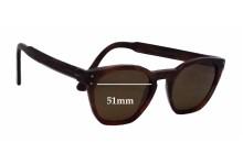 Ahlem Eyewear Montorgueil Replacement Sunglass Lenses - 51mm wide