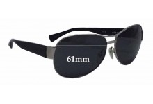 Alain Mikli A0861 Replacement Sunglass Lenses - 61mm wide