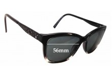 Sunglass Fix New Replacement Lenses for Alex Perry AP Sun Rx 30 - 56mm Wide