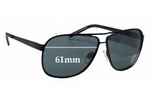 Alex Perry AP SunRx 18 Replacement Sunglass Lenses - 61mm wide