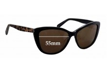 Sunglass Fix New Replacement Lenses for Alex Perry AP Sun Rx 23 - 55mm Wide
