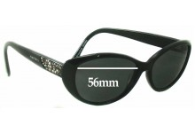 Sunglass Fix New Replacement Lenses for Alex Perry AP Sun Rx 01 - 56mm Wide
