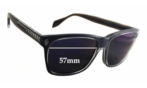 Alexander Mqueen AMQ 4253/S Replacement Sunglass Lenses - 57mm wide